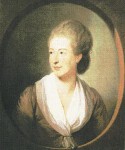 Belle van Zuylen in 1777.