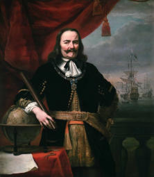 Lieutenant-Admiral-General of the United Provinces. Schilder: Ferdinand Bol (1616–1680). In National Maritime Museum.