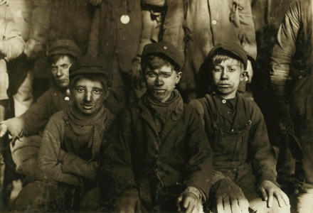 Foto:Pittston, Pennsylvania. Bron: Lewis Hine