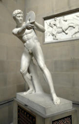 by Mathieu Kessels (marble, 1824-25), Chatsworth House, Devonshire, UK. Foto: Kleon3.