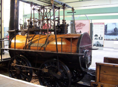 It is now housed in the Darlington Railway Centre and Museum. Foto: Chris55.